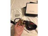 Authentic Gucci GG Belt
