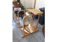 Wooden standing frame used but in great condition free but collection needed.