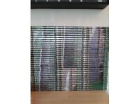 Deagostini BRITISH STEAM RAILWAYS, full set of DVDs with all magazines in binders, plus extras