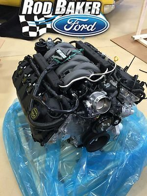 15-17 5.0L COYOTE 435HP MUSTANG ENGINE, CONTROL PACK , ALTERNATOR, MINI STARTER