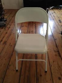 Folding Metal Chairs (x4)