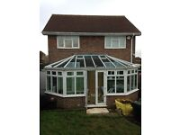 FREE used conservatory size 6m x 2.9m includes all fitted blinds collector must dismantle