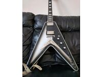 Brent Hinds Flying V Signature Guitar Epiphone