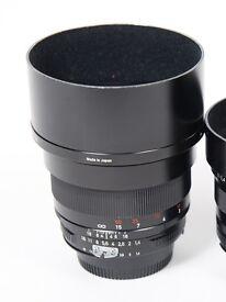 Zeiss 85mm ZF Ai-S v1 Lens Nikon Fit