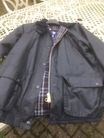 Ladies Burberry Waxed Cotton Jacket