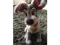 Disney Store Tramp soft Toy