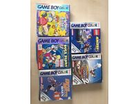 5 Gameboy Colour Games