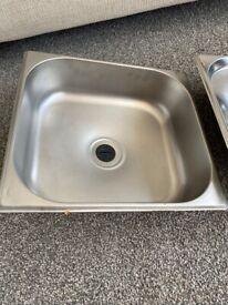 Campervan/caravan sink + drainer