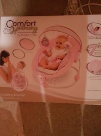 Pink Baby Bouncer and Baby Walker