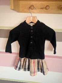 Burberry Baby Dress 12 months