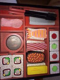 Melissa and Doug wooden play sushi set