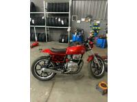 Yamaha xs250 flat tracker mot tax exempt on March swap or sale looking for a Vespa
