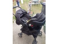 graco 3 in one pram /car seat