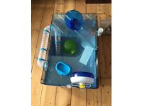 Hamster cage and accessories Syrian best price accepted