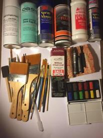 Art Supplies Bundle £60