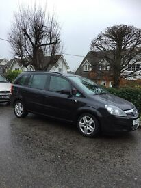 Lovely family car - vauxhall zafira