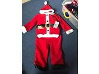 Talking santa costume