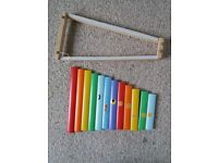 Free to collect – kids' wooden xylophone