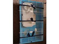 Small Animal Cage | Rabbit, Guinea Pigs, Hamsters