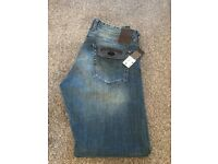 Replay Grover Men's Blue Jeans W34 / L32 - New With Tags