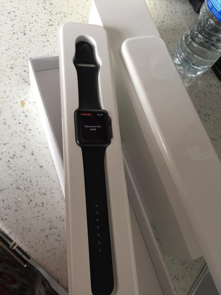 Apple Watch 42mm sport modelin Marton in Cleveland, North YorkshireGumtree - Boxed Like new condition and with extra strap No timewasters plz Cash on collection or local drop off