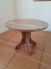 Round, 70's Formica table