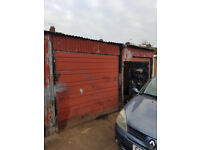 SECURE GARDEN GARAGE STORAGE TO RENT LET 11X5m 36x17 foot NIGHTINGALE ROAD EDMONTON