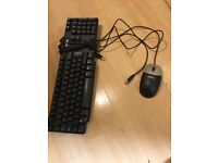 dell usb mouse and keyboard