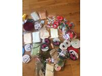 Job lot sewing ribbon