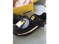 NEW cycling road shoes Mavic Aksium elite 2 cost £90 uk 10 trek