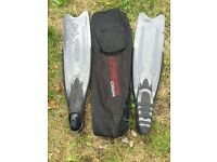 Cressi GARA PROFESSIONAL FINS 42/43 LD plus carrier bag