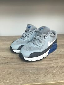 Nike air max trainers size 8.5 infants