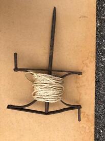 Antique line winder