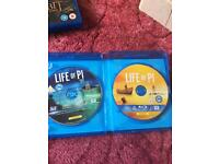 Life of pi blu ray 3D and standard blu ray