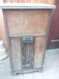 Edwardian Coal Scuttle / Shabby Chic Project