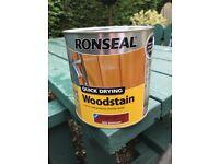 Ronseal wood stain deep mahogany