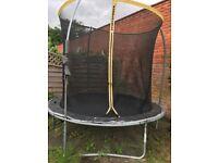 8ft Sports Power trampoline