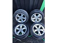 17 inch Genuine Audi Alloy wheels. 17""