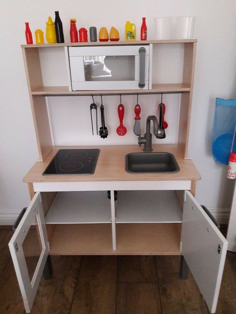 Childrens Ikea wooden toy kitchen