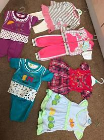 Brand new bundle of baby girl clothes 3-6 months old