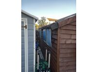 10 foot by 8 foot garden shed