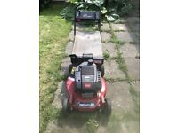 Toro large 21' petrol mower will mulch or collectr alloy deck very expensive new