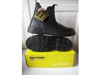 Blackmans Mens Work Chelsea Boot Dealer Slip On Boot Ankle Boot Size 45 /11 NEW