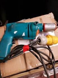 Makita electric drill 110v excellent