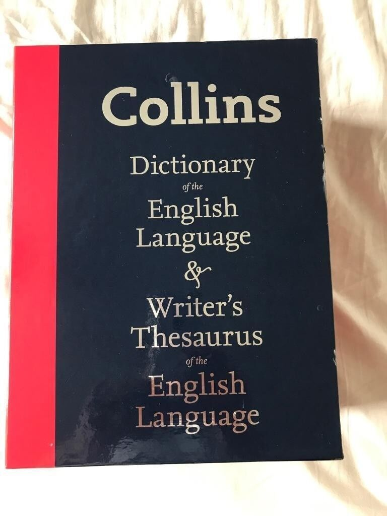 Collins Dictionary and Writers Thesaurus set | in Darlington, County Durham  | Gumtree