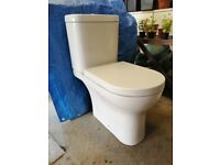 Cloakroom wash hand basin and Toilet (WC)