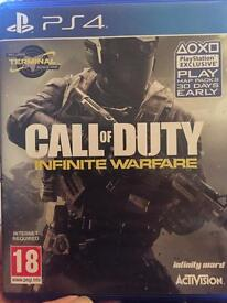 PS4 Call of Duty Infinite Warwafe