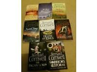 Bernard Cornwall paper back books