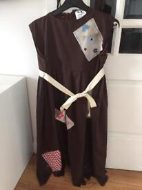Orphan Annie fancy dress costume as new