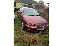 Rover 75 non runner petrol